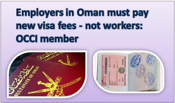 Paying Visa Fee is Responsibility of Employer in Oman