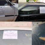 Riyadh Municipality Warned Owner of Stalled or Neglected Vehicles