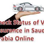 CHECK VEHICLE INSURANCE STATUS ONLINE