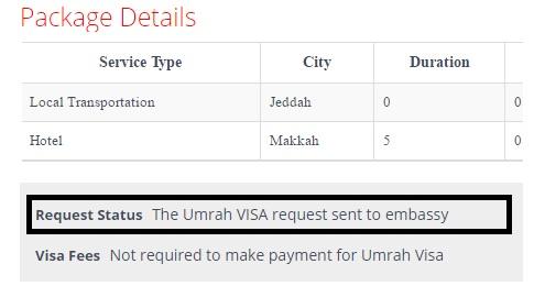 check-umrah-visa-fee
