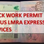 CHECK WORK PERMIT ON LMRA EXPRESS SERVICES