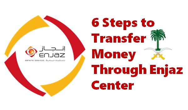 6 Steps to Transfer Money Through Enjaz Center