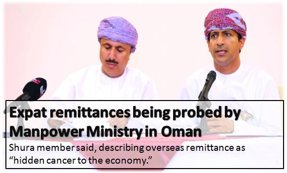 Expatriate Remittances being Checked by MOM Oman