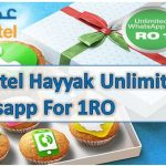 Omantel Hayyak Unlimited Whatsapp For 1RO