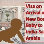 Visa on Arrival of New Born Baby to Saudi Arabia
