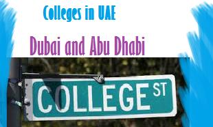 List of Colleges Schools in UAE Dubai, Abu Dhabi