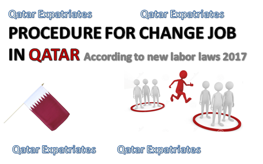 Change sponsor Job in Qatar Procedure