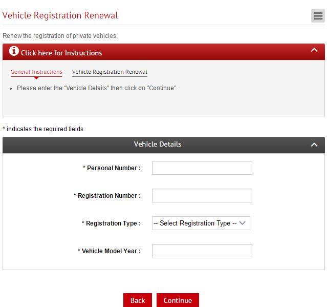 Vehicle Registration Renewal Online in Bahrain | Arabian