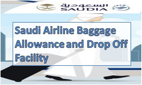 Saudi Airlines Baggage Drop Off Facility