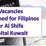 300 Vacancies Opened for Filipinos in Dar Al Shifa Hospital Kuwait