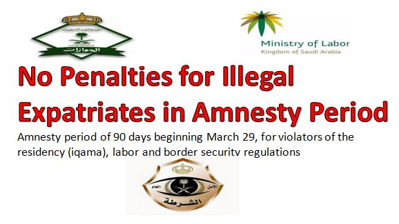 No Penalties for Illegal Expatriates in Amnesty Period