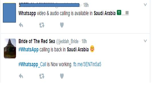 Is Whatsapp Calling Still Blocked in Saudi Arabia?