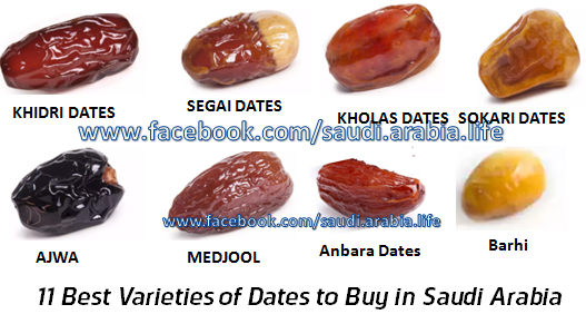 11 Best Varieties of Dates to Buy in Saudi Arabia