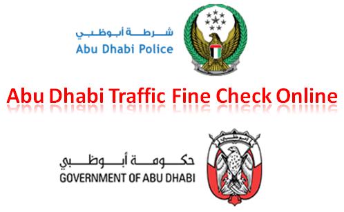 Check Abu Dhabi Traffic Fines Online