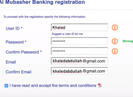 al rajhi bank account registration