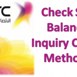 Check STC Balance Inquiry Codes Methods