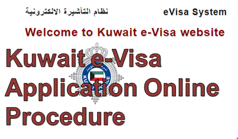 Kuwait e-Visa Application Online Procedure