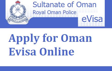 Apply for Oman Evisa Online