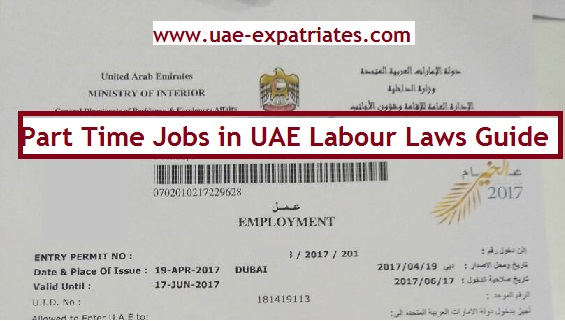 Part Time Job in UAE Labour Laws Guide