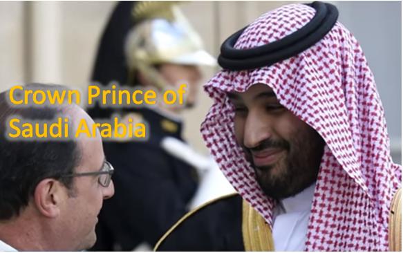 New Crown Prince of Saudi Arabia