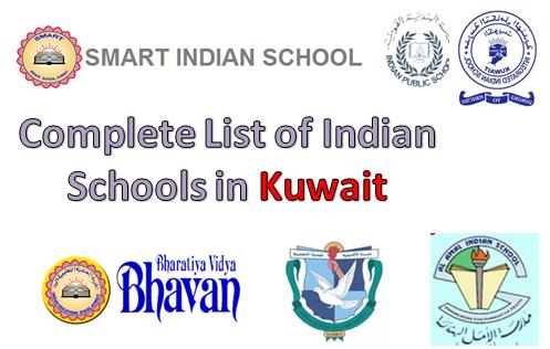 Complete List of Indian Schools in Kuwait