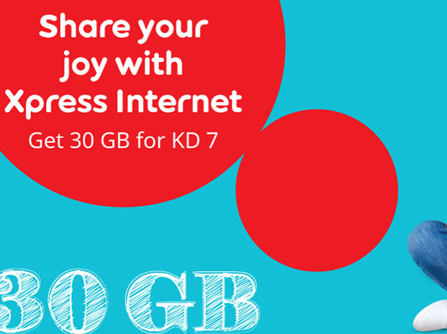 Ooredoo Xpress Internet Monthy Pack