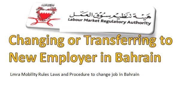 Expatriate Employee Transfer to New Job/Company in Bahrain