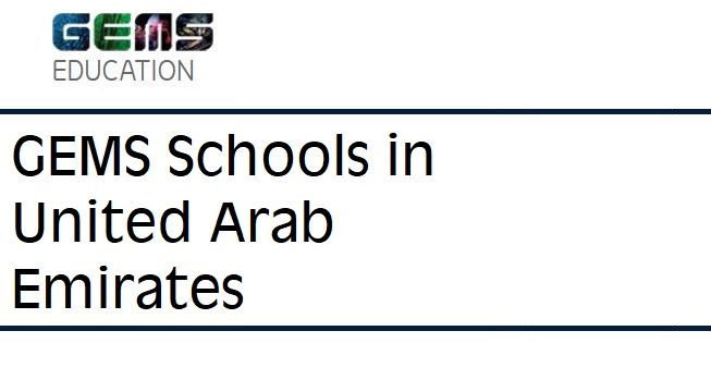 GEMS Schools in Dubai