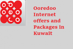 Ooredoo Internet offers and Packages