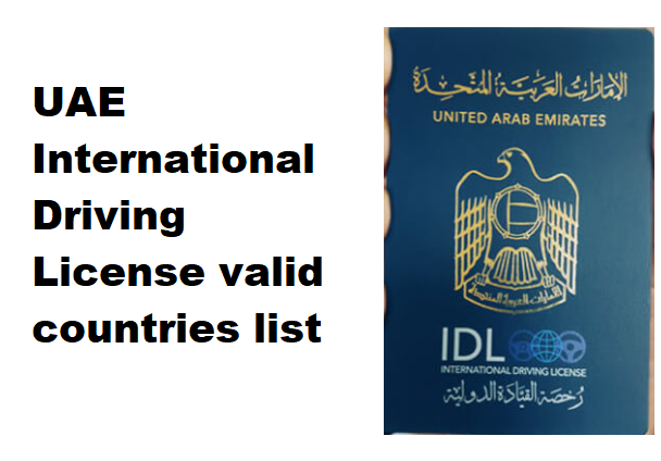 uae-dubai-international-driving-license-valid-countries-list