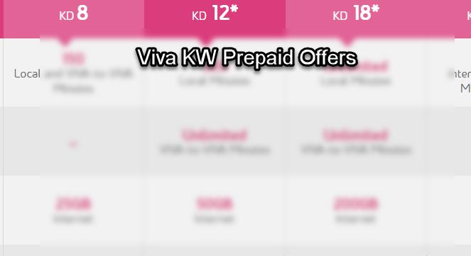 Viva KW Prepaid Offers